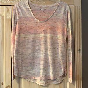 Loft long sleeve t shirt